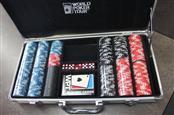 WORLD POKER TOUR Casino Collectible 300 PIECE POKER CHIP SET